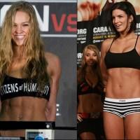 Ronda Rousey vs Gina Carano @ UFC® 175?!