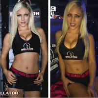 Ring Girl Jade Bryce dropped by Bellator®