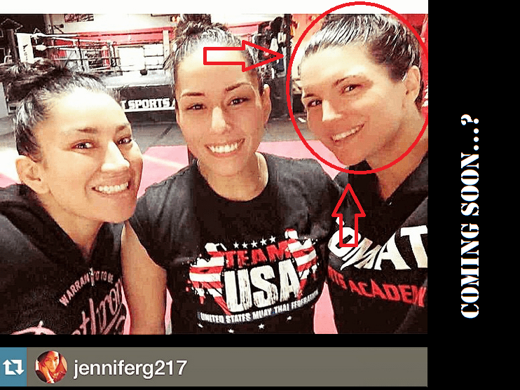 Gina Carano back in training?!