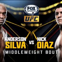 Anderson Silva vs Nick Diaz video highlights