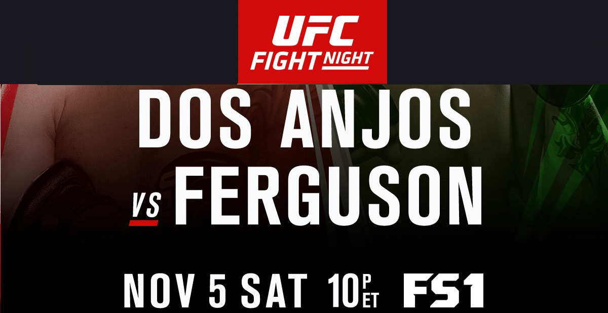 UFC® Fight Night 98: Dos Anjos vs. Ferguson