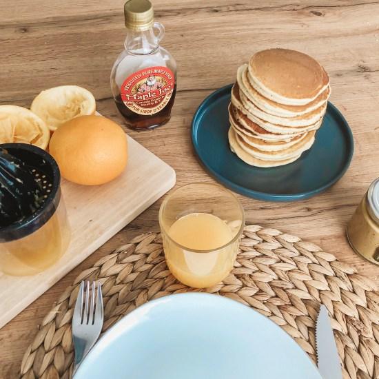 Pancakes petit dejeuner