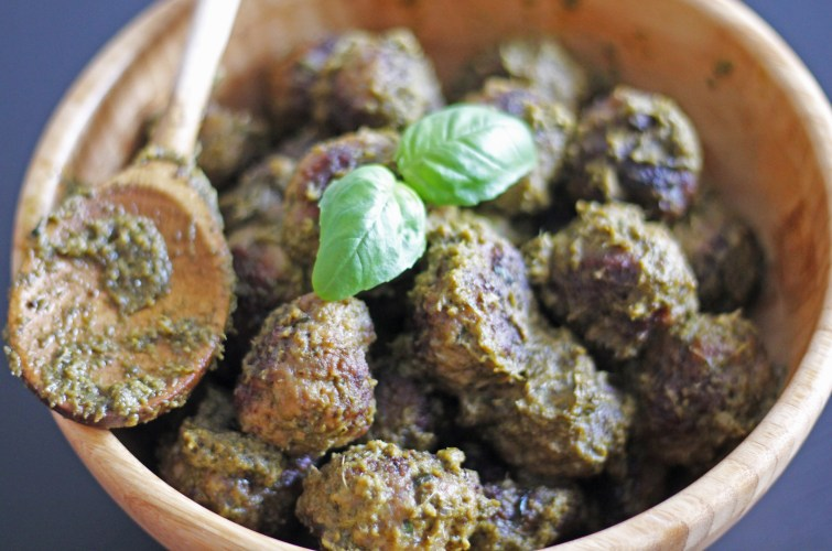 Les boulettes au pesto par fannyalbx.com