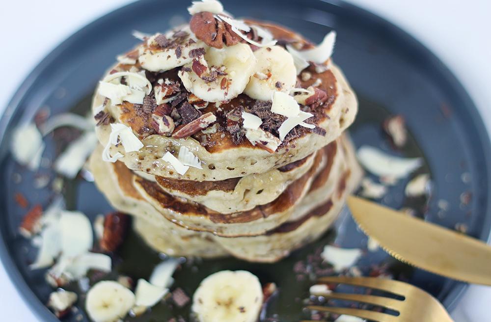Pancakes à la banane par fannyalbx.com