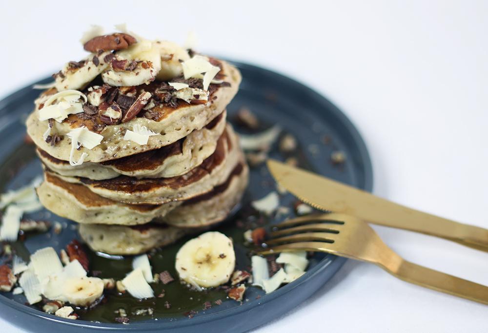 La recette des pancakes par fannyalbx.com