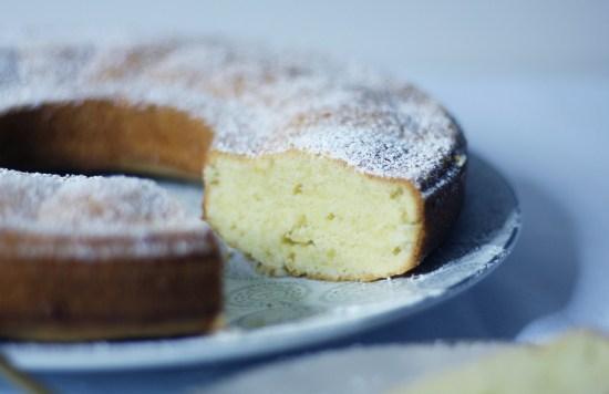 Gâteau italien au citron