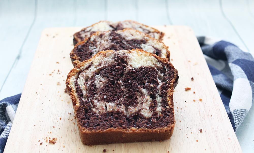 Cake au yaourt marbré - fannyalbx.com