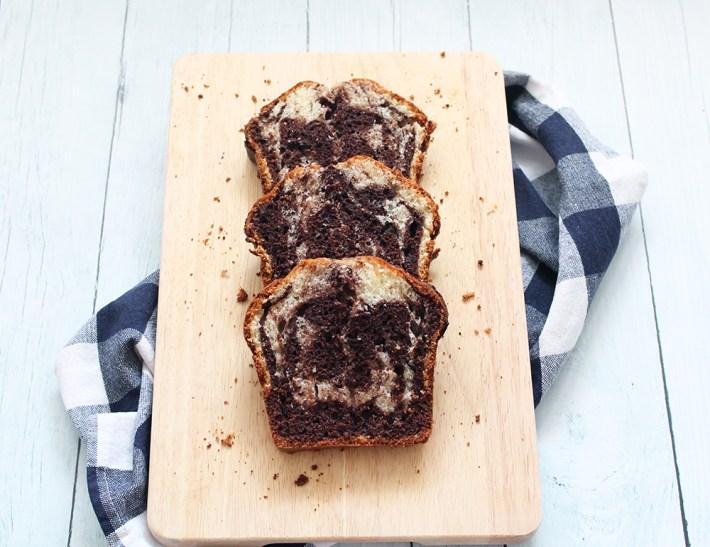 Gâteau au yaourt marbré - fannyalbx.com