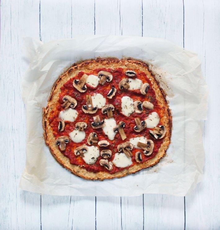 Recette simple pizza chou fleur sur fannyalbx.com