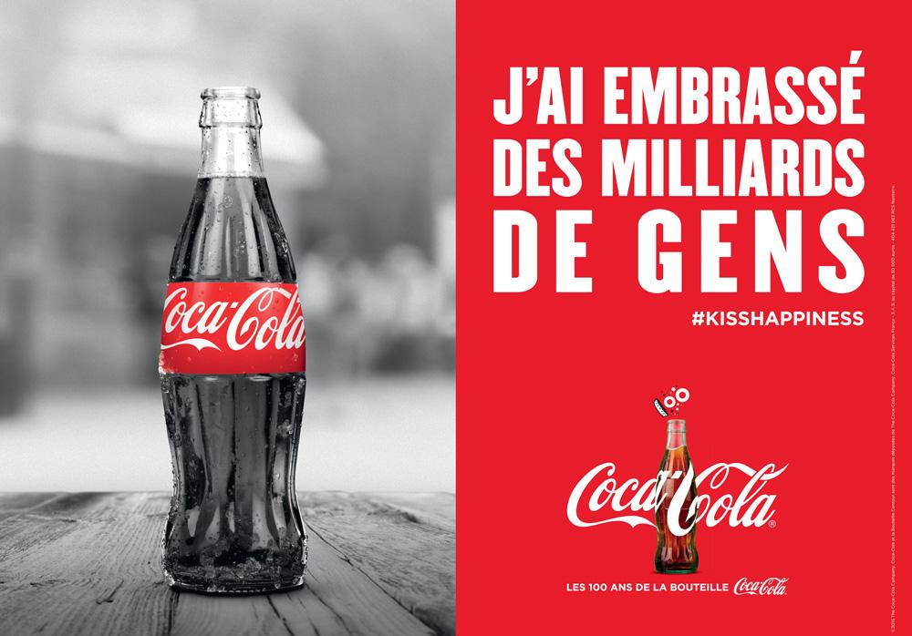 Coca-Cola veut embrasser les jeunes sur Instagram avec sa campagne#KissHappiness