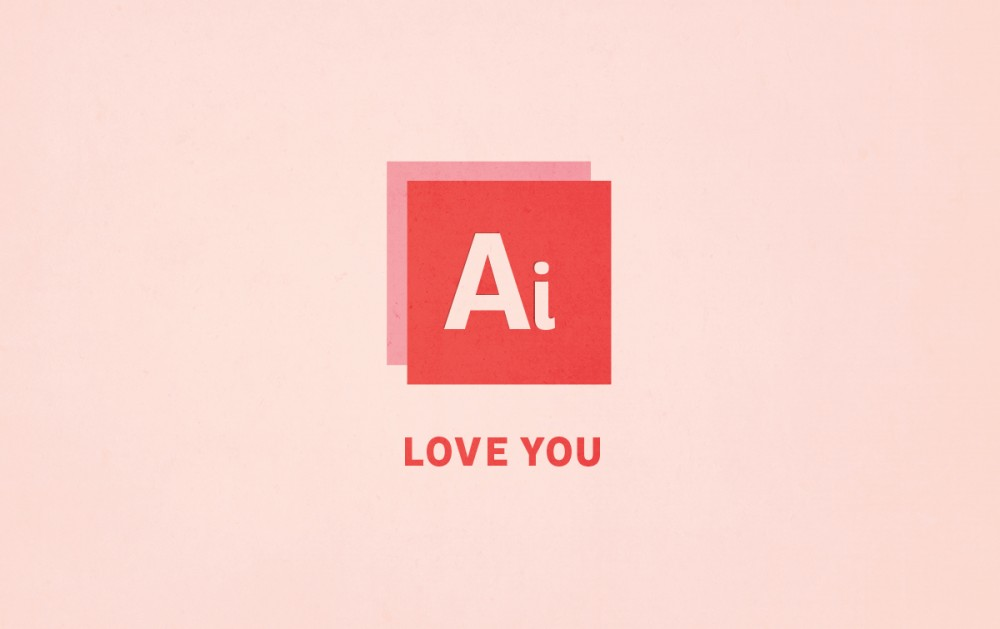 La St Valentin version graphiste !