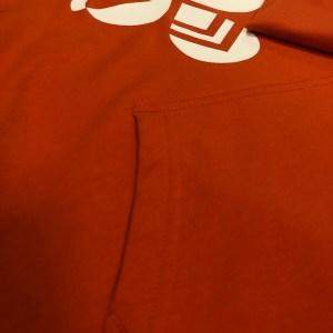 hummel hættetrøje orange