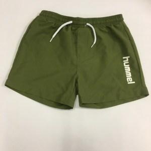 Army grøn shorts til drenge fra hummel