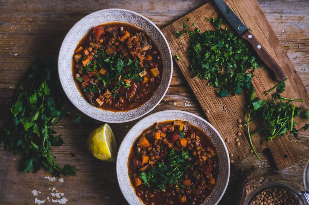 Smoky Lentil Stew