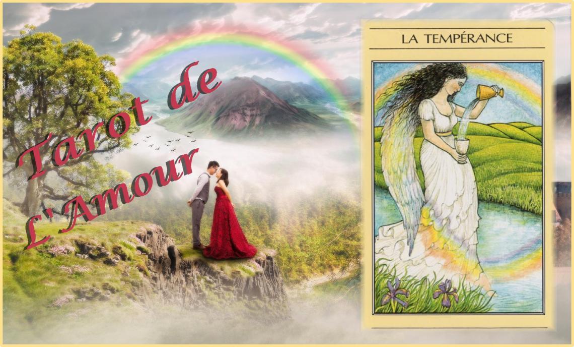 Tarot mythique Tempérance