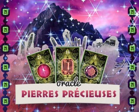 Tirage gratuit Oracle des Pierres Précieuses