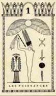 Tarot égyptien puissance