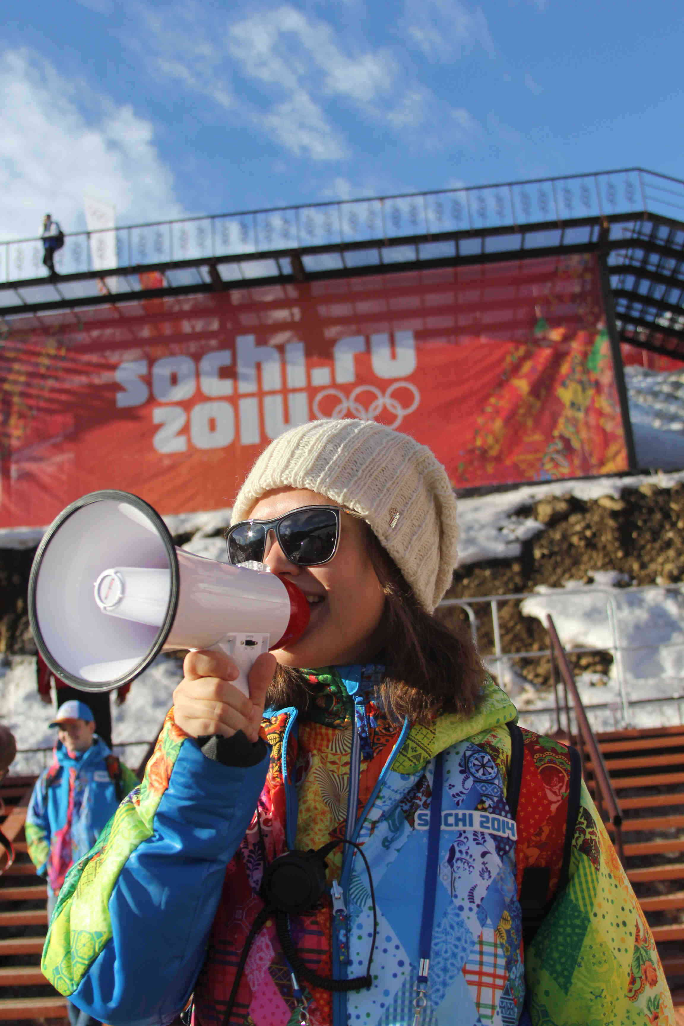 sochi 2014 volunteer