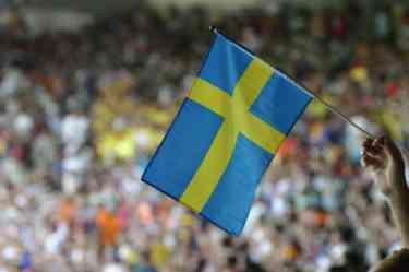 swedish fans athletics beijing 2008 gold