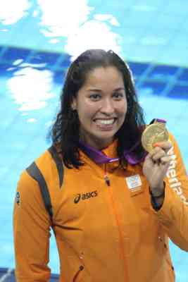 london 2012 ranomi kromowidjojo 100 freestyle swimming gold