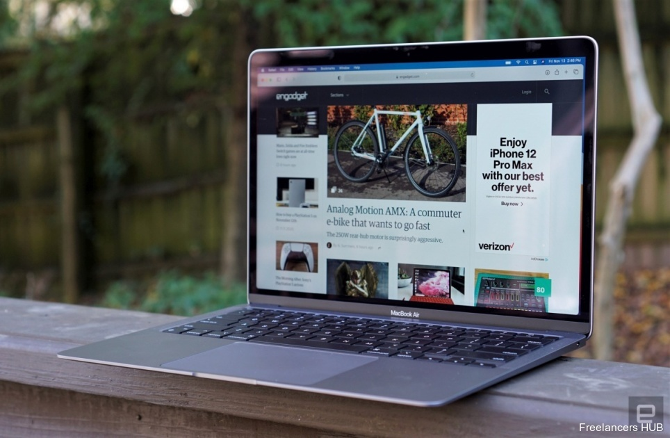 The Morning After: We reviewed the new M1-powered MacBook Air