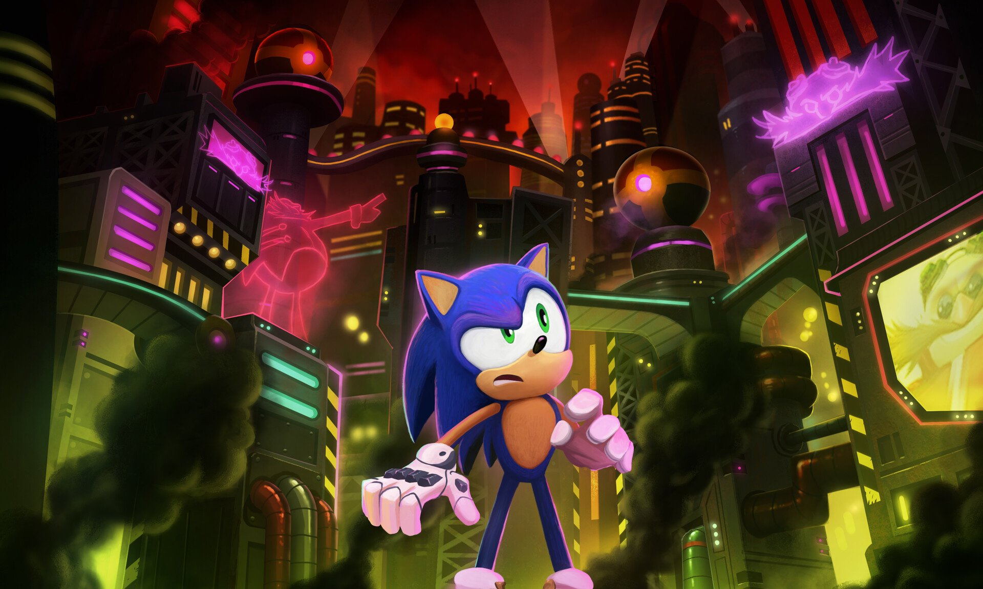 netflix game planning animatedseries anniversary fate newgame entertainment prime sonic series promise