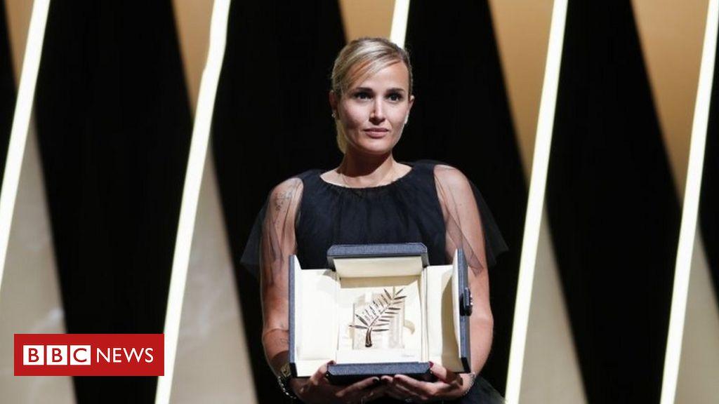 frenchriviera prize award won cannesfilmfestival festivals filmfestival festival monster titane film director thank wins worldlynewsonline