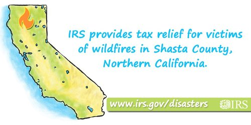 IRS wildfires
