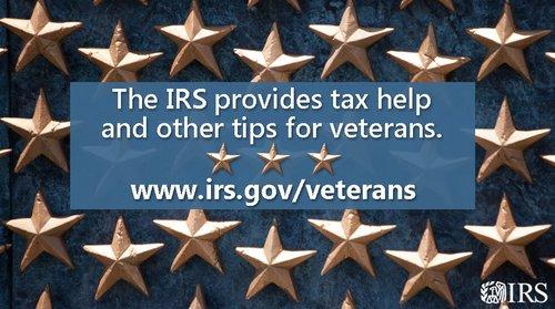 MilitaryAppreciationMonth IRS veterans
