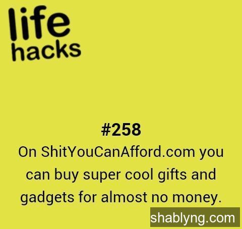 DIY gifts Hacks Life money tips