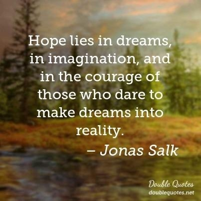 dreams hope success imagination life love amwriting courage attitude positivity outlook quote