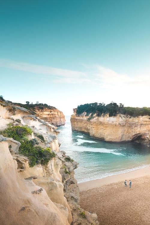 Landscape Ocean Nature Travel Australia Beach up