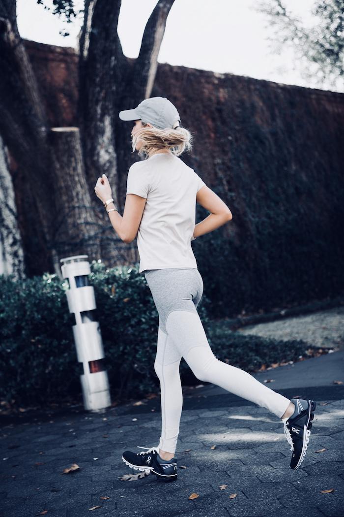 Fitness Outfits OutdoorVoices OnRunning TheKatyTrailDallas