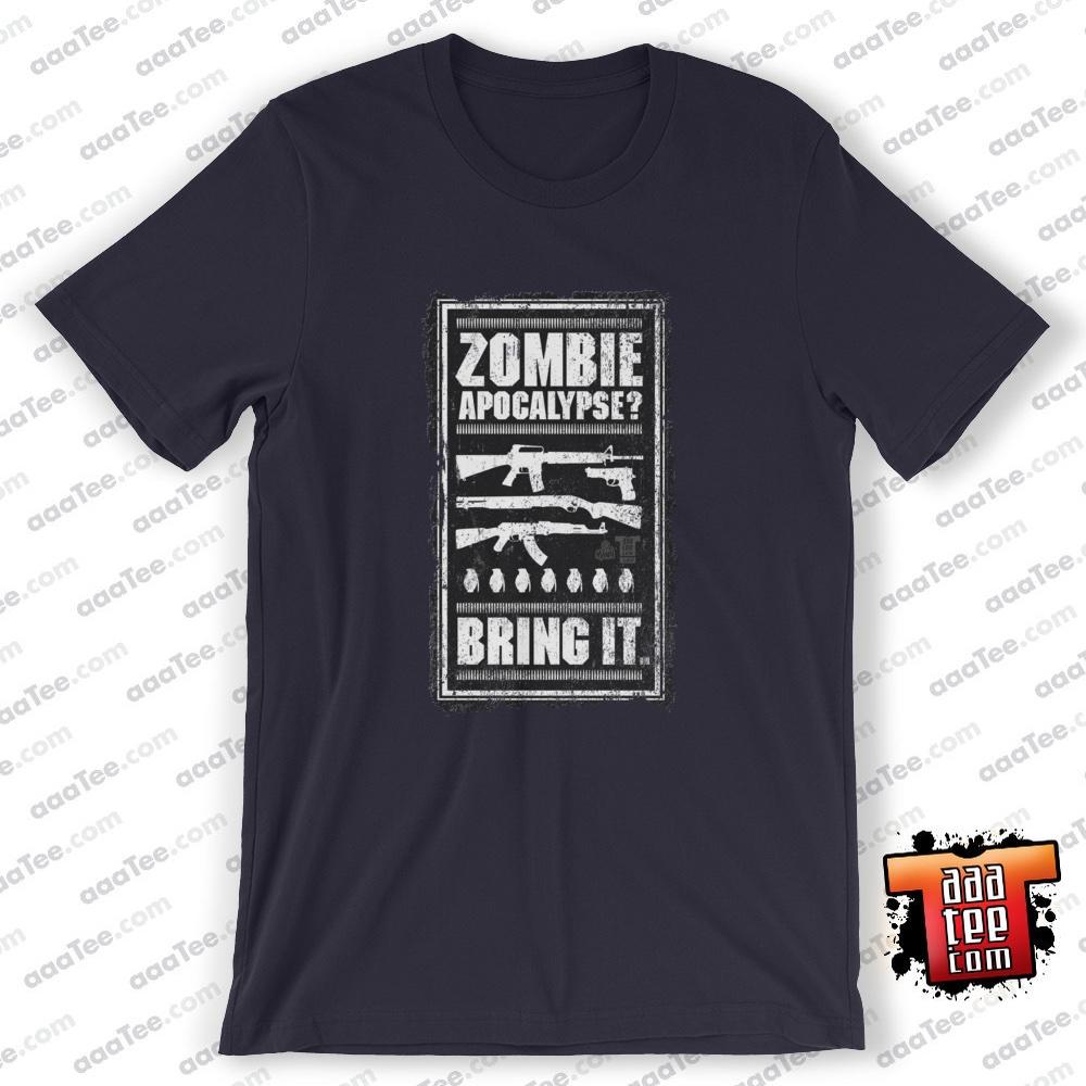 tshirt zombie apocalypse gaming new sale