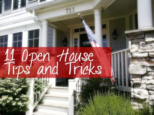 11 Simple Tips for a Great Open House