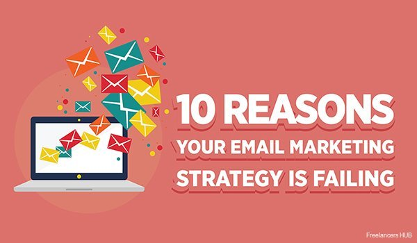 10 Reasons Your #EmailMarketing Strategy is Failing – & How to Fix It: