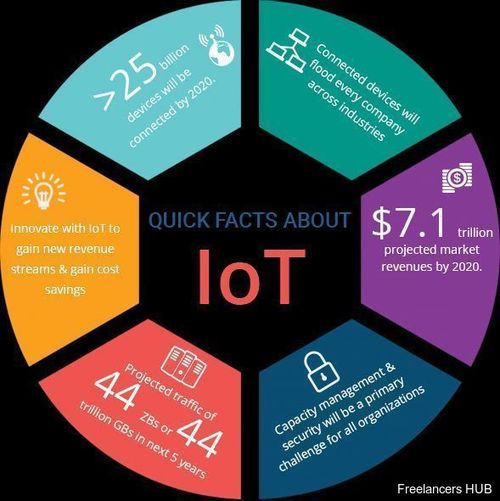Quick Facts About #IoT {Infographic}