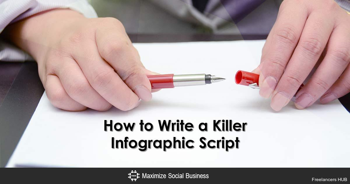 How to Write a Killer Infographic Script via   #content #marketing