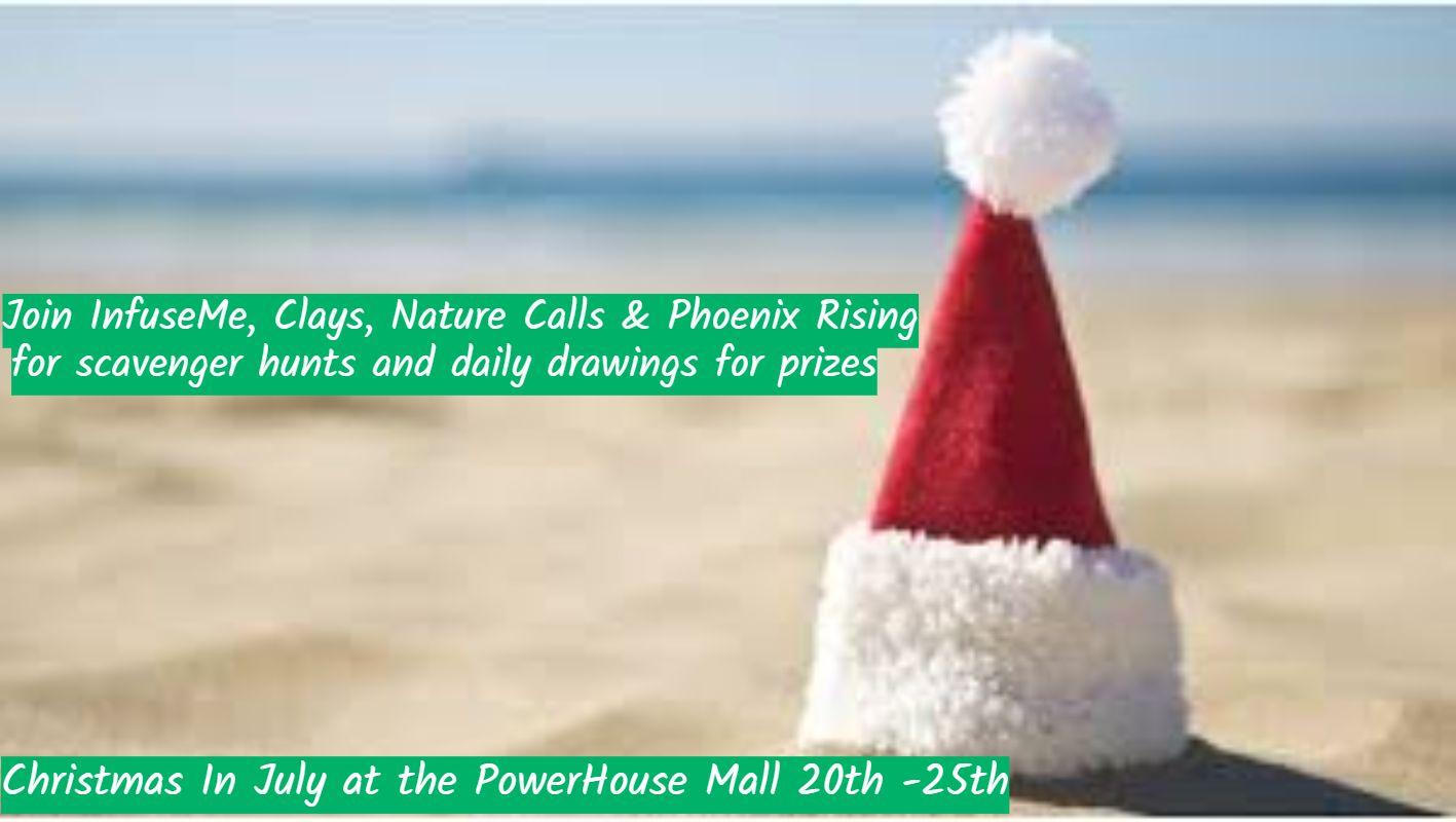 infusemeinc powerhousemallshopping christmasinjuly familyfun westlebanon enfield vtnh uppervalley hanover vermont newhampshire boston
