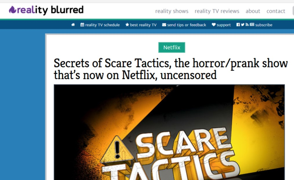 scaretactics netflix realityblurred uncensored scaretacticsandchill hitnetflixlikeatonofbricks