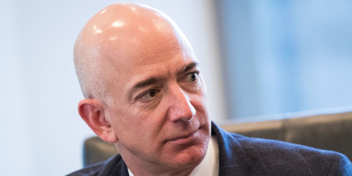 billionaires tech technology 2019 Amazon founder Jeff Bezos divorce