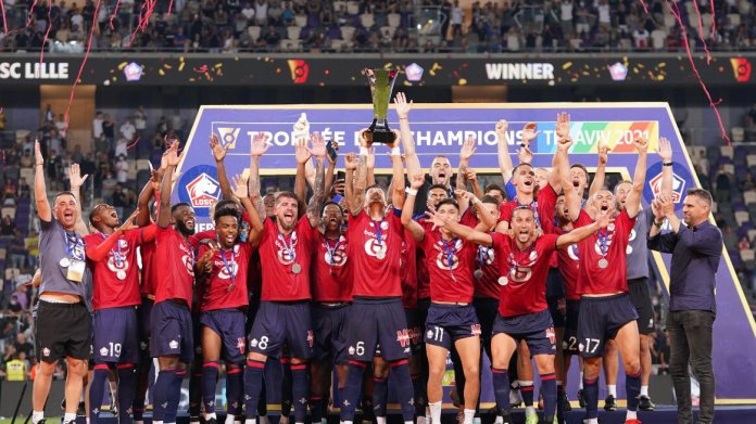 Lille French Super Cup Champions