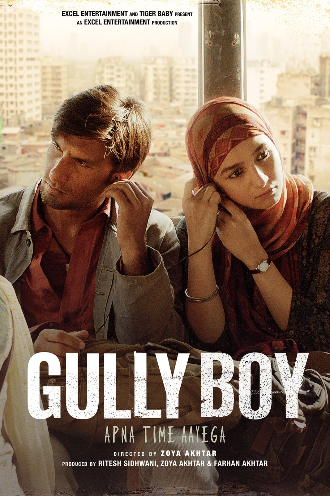 """Poster for the movie """"Gully Boy"""""""