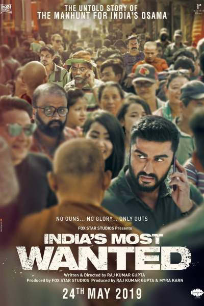 "Poster for the movie ""India's Most Wanted"""