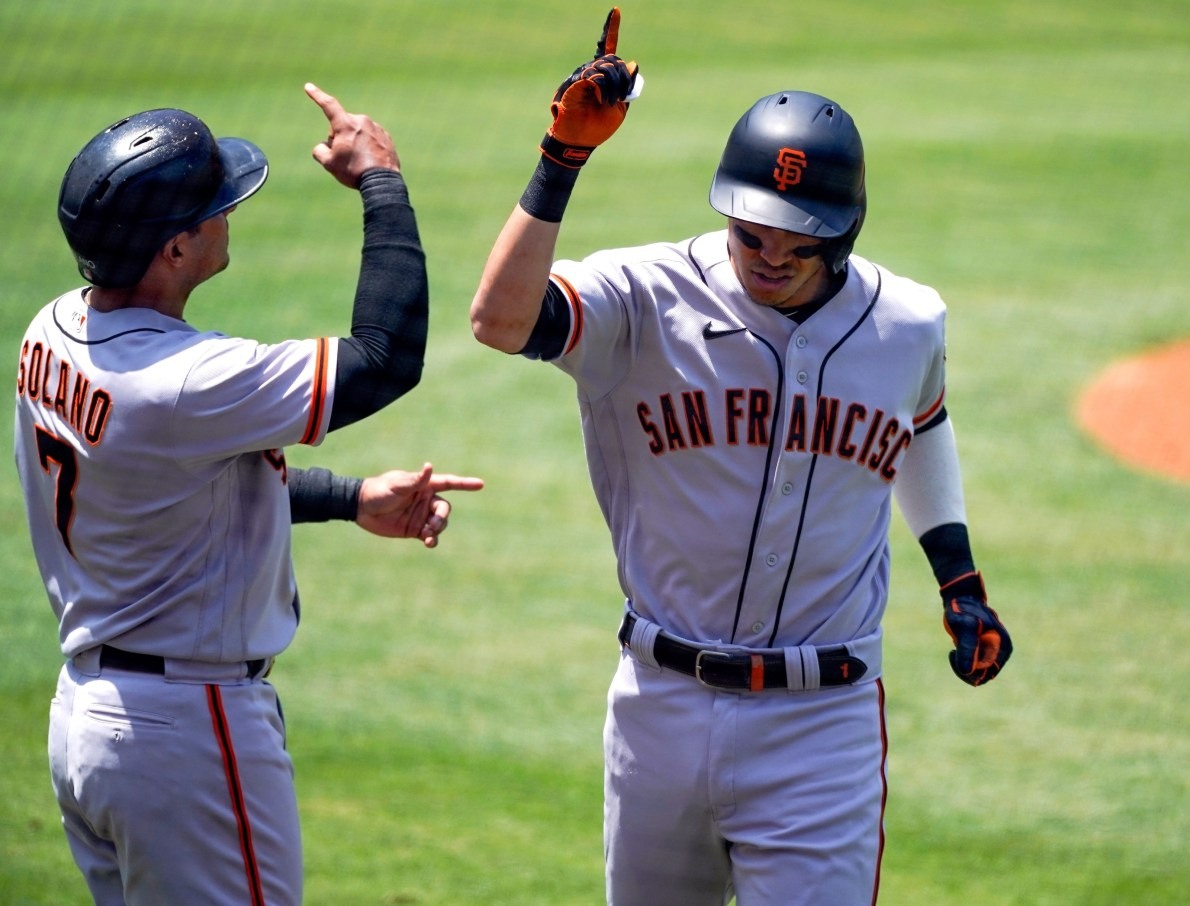 San Francisco Giants hit home runs with the best of them