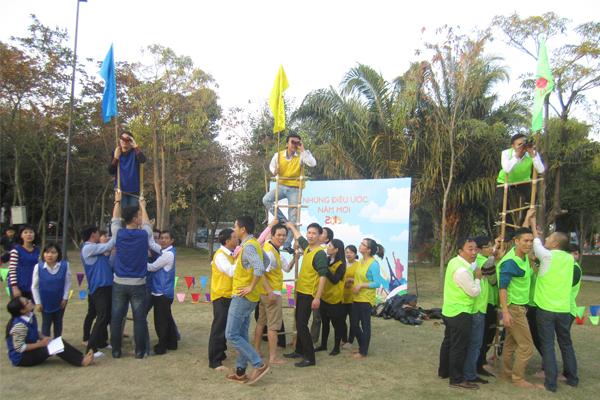 to-chuc-teambuilding-tai-resort