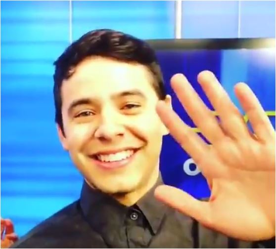 David Archuleta Fox12 Portland wave