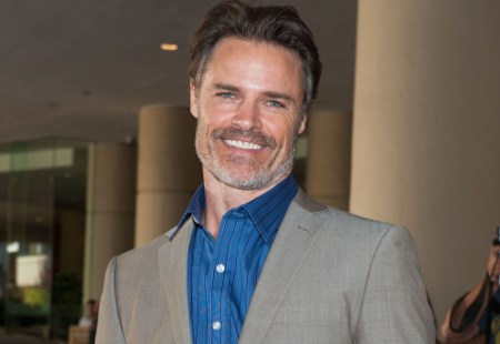 """BEVERLY HILLS, CA - JULY 24: Dylan Neal attends Hallmark Channel and Hallmark Movie Channel's """"2013 Summer TCA"""" Press Gala at The Beverly Hilton Hotel on July 24, 2013 in Beverly Hills, California. (Photo by Valerie Macon/Getty Images)"""