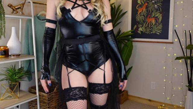 kat wonders 20 days of halloween costumes day 8 AMVMQU 1024x576 Kat Wonders Nude 20 Days Of Halloween Costumes Day 8