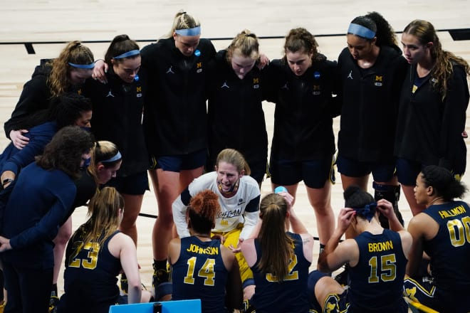 Michigan Wolverines women's basketball head coach Kim Barnes Arico led her team to the Sweet 16 for the first time in program history.